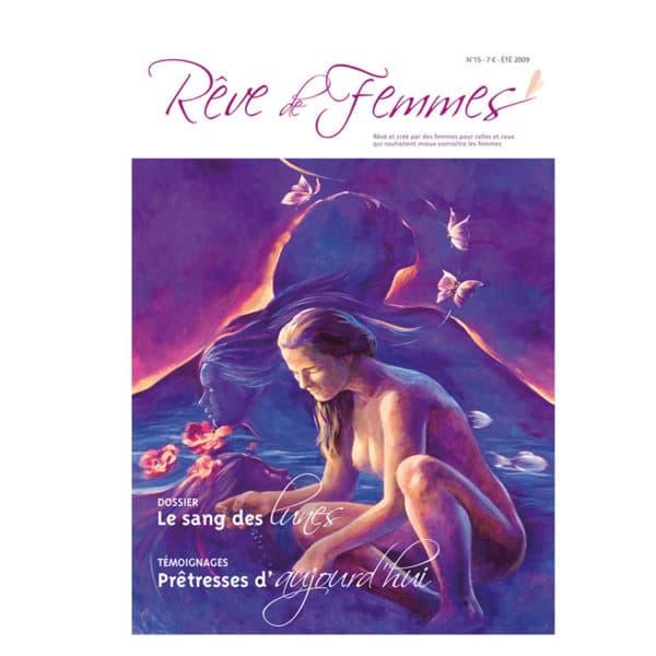 Couverture revue Rêve de femmes n°15