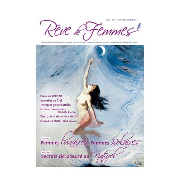 Couverture revue Rêve de femmes n°23