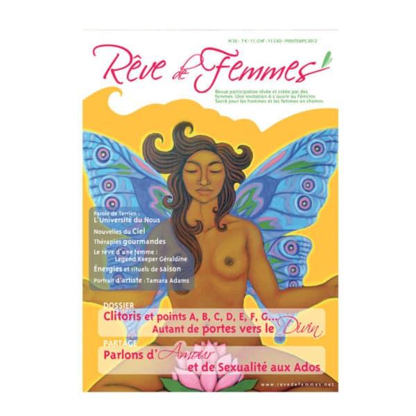 Couverture revue Rêve de femmes n°26