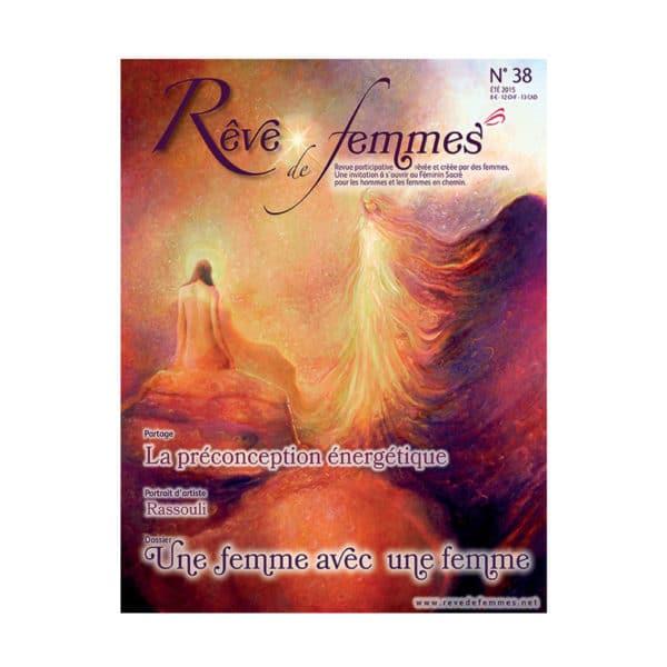 Couverture revue Rêve de femmes n°38