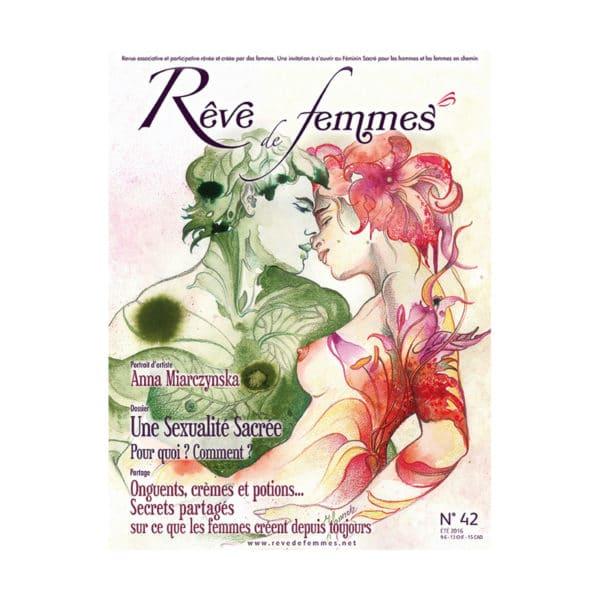 Couverture revue Rêve de femmes n°42