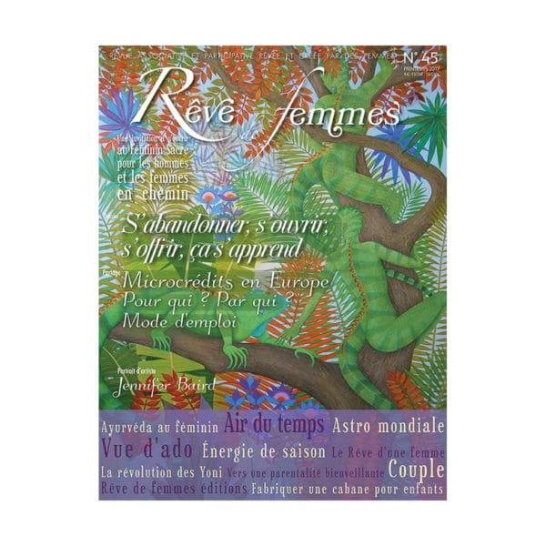 Couverture revue Rêve de femmes n°45